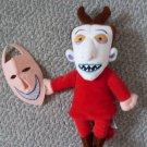"NEW 10"" Nightmare Before Christmas Doll Plush Lock NBC"