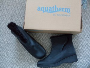 NEW Aquatherm Black Winter Boots 7.5 W by Santana