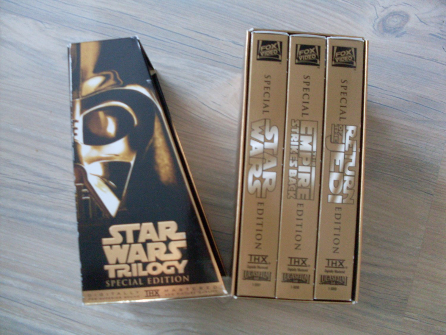 Star Wars original trilogy movies VHS Special Edition