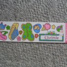 NEW Summer time Name stickers Christie scrapbooking