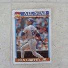Ken Griffey Jr. Topps Baseball Card 1991 All Star