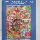 Fairy Tale Hidden Picture Coloring Book Anna Pomaska