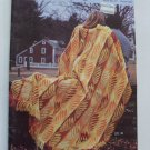 Americana Afghans knit crochet embroidery 1974 Leaflet