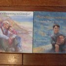 Lot 2 Maria Shriver HC children's books Timmy Grandpa