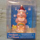 NEW Care Bears Glass Christmas Ornament MIB Cheer Bear