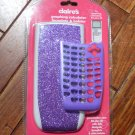 NEW Claire's TI 84 plus SE calculator face plate & holster purple NIP