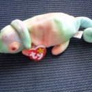 Rainbow Beanie Babies 1997 with tags Lizard Chameleon