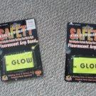 Halloween Fluorescent Arm Band NEW NIP set of 2