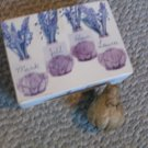 NEW Place Card Holders Flowering Bulbs NIB Set of 4