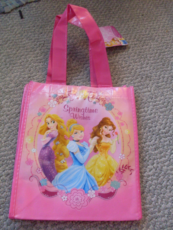 NEW Disney Princess Spring time Child's Tote Bag