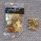New Gold Stars Confetti two sizes NIP Decorations