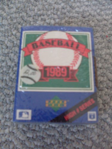 New Sealed Boxed Set 1989 Upper Deck Baseball Cards High # Series