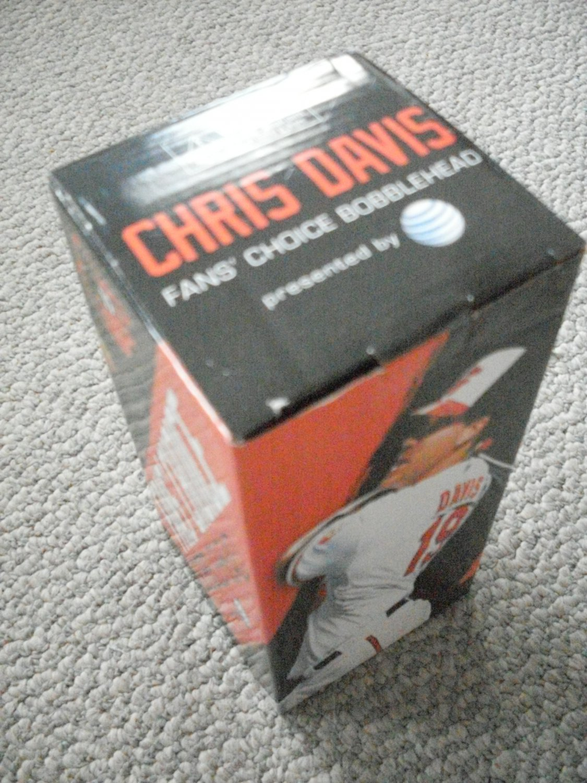 NIB Chris Davis Bobblehead 9/29/2013 Baltimore Orioles
