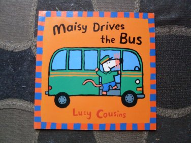 PB Picture Book Maisy Drives the Bus Lucy Cousins