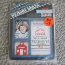 NEW Memory Box School Photo needlework Cross Stitch Kit with frame
