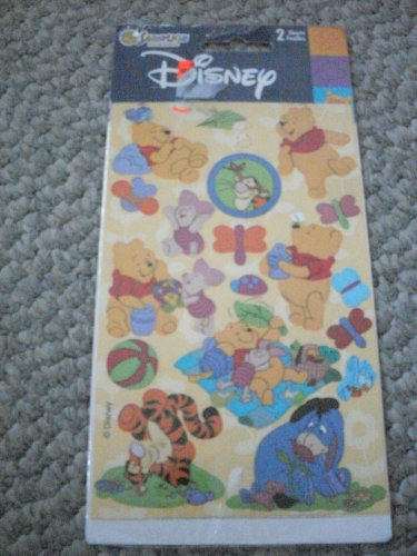 NEW Winnie the Pooh, Piglet Disney Sticker Sheets