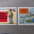 Cloudy With a Chance of Meatballs & Pickles to Pittsburgh Judi Barrett Book lot
