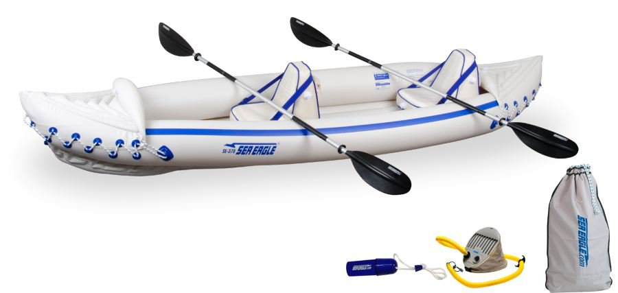 Sea Eagle 370 Inflatable PRO Kayak  New - 3 yr mfg warranty SPECIAL ONLY ONE AT THIS PRICE