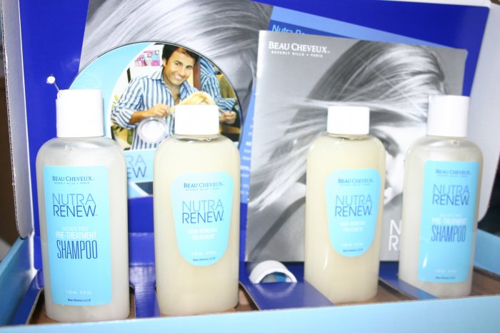 NUTRA RENEW HAIR TREATMENT KIT 4 MONTH SUPPLY w/ DVD
