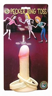 Glow in the Dark Pecker Ring Toss Game~Penis~Bachelorette Party~Girls Night