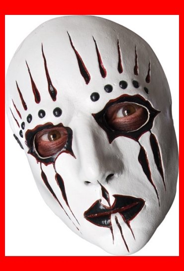 Slipnot Joey Jordison Halloween Costume Mask~NEW