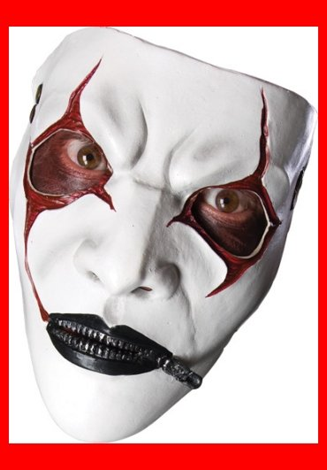 Slipnot James Root Halloween Costume Mask~NEW