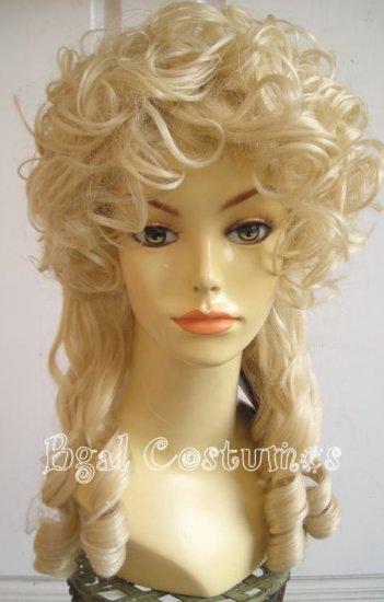 Blonde Marie Antoinette Costume Wig - Little Bo Peep