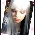 Long White Wig with Bangs~Anime~Cosplay~Halloween~Storm Costume