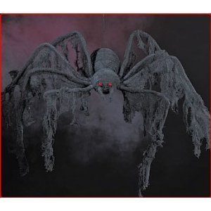 Giant Creepy 4 ft Cloth Spider~Halloween Party Decoration~Prop