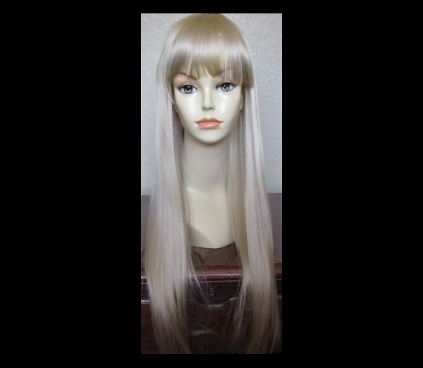 Budget Long Blonde Alice in Wonderland Halloween Costume Wig