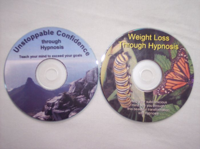 Weight Loss + Self Confidence through Hypnosis 2 CD Set