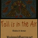 "Rug Hooking & Punch Needle Pattern EBooklet ""Fall is in the Air"""