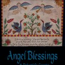 "Rug Hooking & Punch Needle Pattern E-Booklet ""Angel Blessings"""