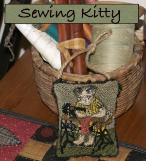 Sewing Kitty