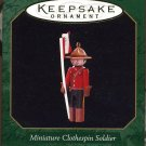 Hallmark Miniature CLOTHESPIN SOLDIER Canadian Mountie