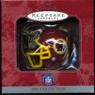 Hallmark NFL Collection REDSKINS Helmet 1998