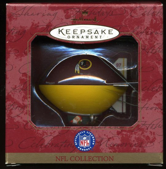 Hallmark NFL Collection REDSKINS football Blimp 1997