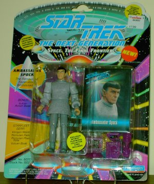 Star Trek the Next Generation Ambassador Spock Action Figure VARIATION