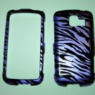 Purple Zebra Cell Phone Hard Cover Skin