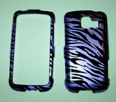 Purple Zebra Cell Phone Hard Cover Skin
