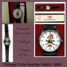 Ernie Keebler Elf Quartz Watch Vintage Collectible
