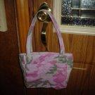 New Custom Made Purse Handbag Tote Pink Camo