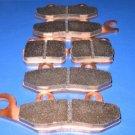 YAMAHA BRAKES 04 - 05 YFZ450 YFZ 450 FRONT & REAR BRAKE PADS #1-135-1-165-1-84
