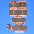 SUZUKI BRAKES 2006 LT-A500 VINSON 4X4 FRONT & REAR BRAKE PADS #2-1012S-7064S