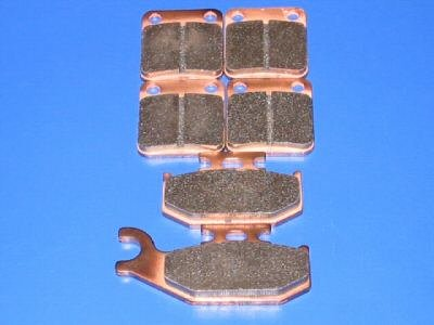 SUZUKI BRAKES 2002 VINSON LT-A 500 VINSON 4X4 FRONT & REAR BRAKE PADS #2-1012S-1-7064S