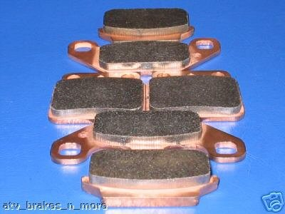 SUZUKI BRAKES 87 - 92 LT250R QUADRACER FRONT & REAR BRAKE PAD 2-128 1-137