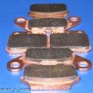 SUZUKI BRAKES 87-90 LT500R FRONT & REAR BRAKE PADS 2-128 1-137