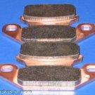 SUZUKI BRAKES 85-93 LT230 QUADSPORT FRONT BRAKE PADS 2-15-128
