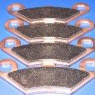 POLARIS BRAKES 95-02 Xplorer 400L 4x4 FRONT BRAKE PADS #2-7036S