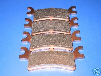 POLARIS BRAKES SPORTSMAN 500 TOURING EFI QUAD REAR BRAKE PADS #2-7058S